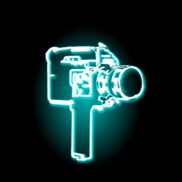 video camera glow